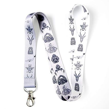 Diseños de tatuajes cordón con clip para llaves o ID tarjetas de ...