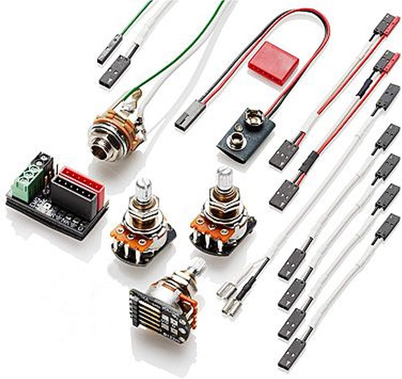 Amazon.com: EMG PJ Kit Solderless Conversion Wiring Pickup Set: Musical  InstrumentsAmazon.com