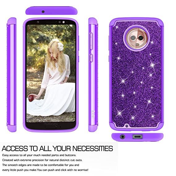 Cases, Covers & Skins Temperate Glitter Bling Shiny Soft Tpu Case Cover For Samsung Galaxy S7 8 9 Edge & Plus