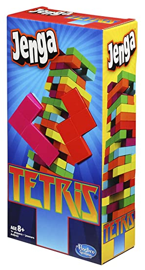 Jenga Tetris Game Board Games Amazon Canada