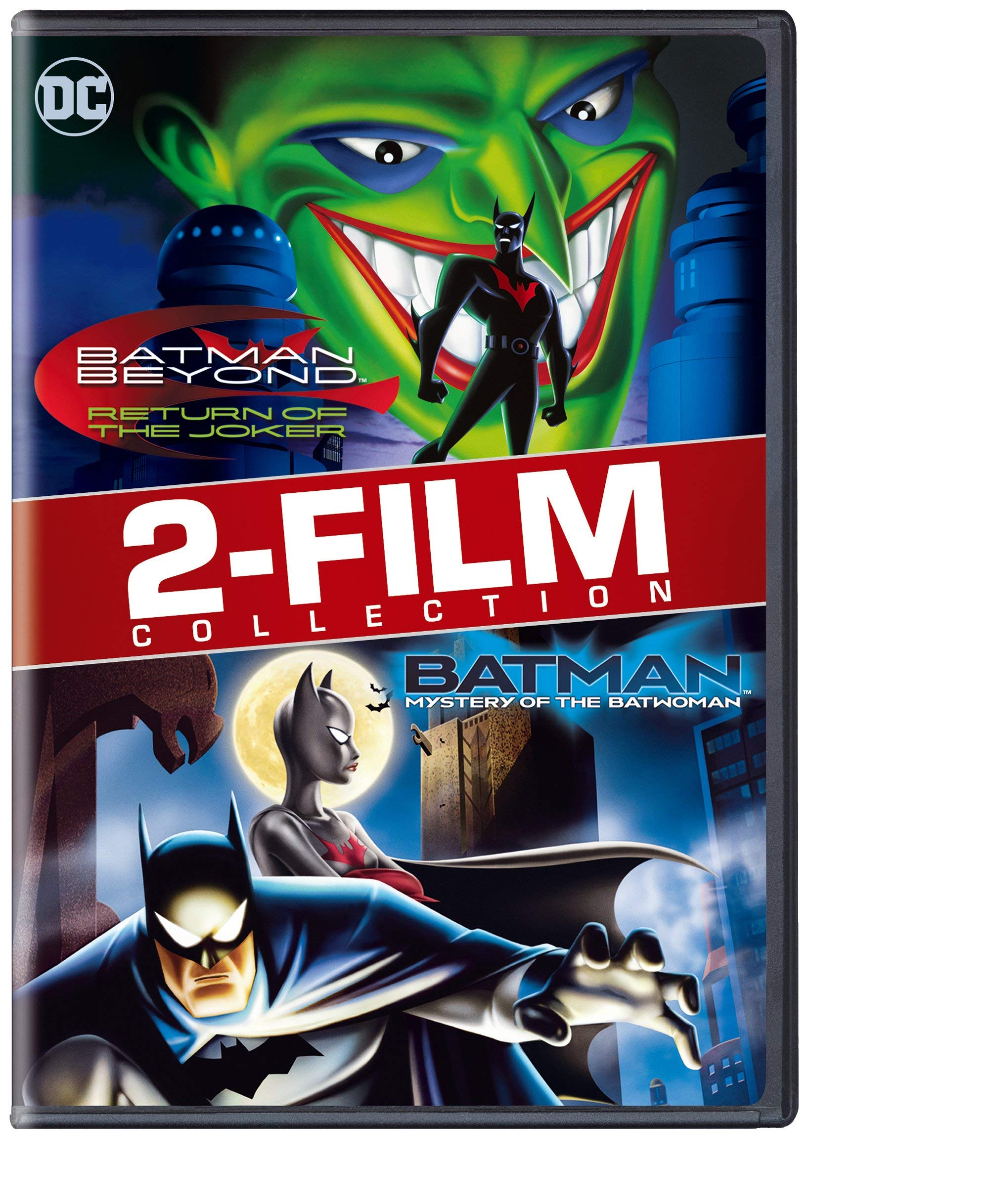 DVD : Batman Beyond: The Return Of The Joker/ Batman: Mystery Of The Batwoman (Repackaged, Eco Amaray Case)
