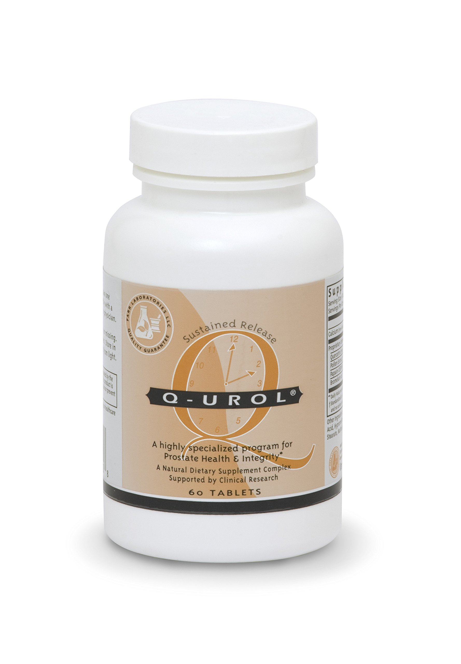 Q-Urol for Prostate Health, Chronic Prostatitis and Chronic Pelvic Pain Syndromes