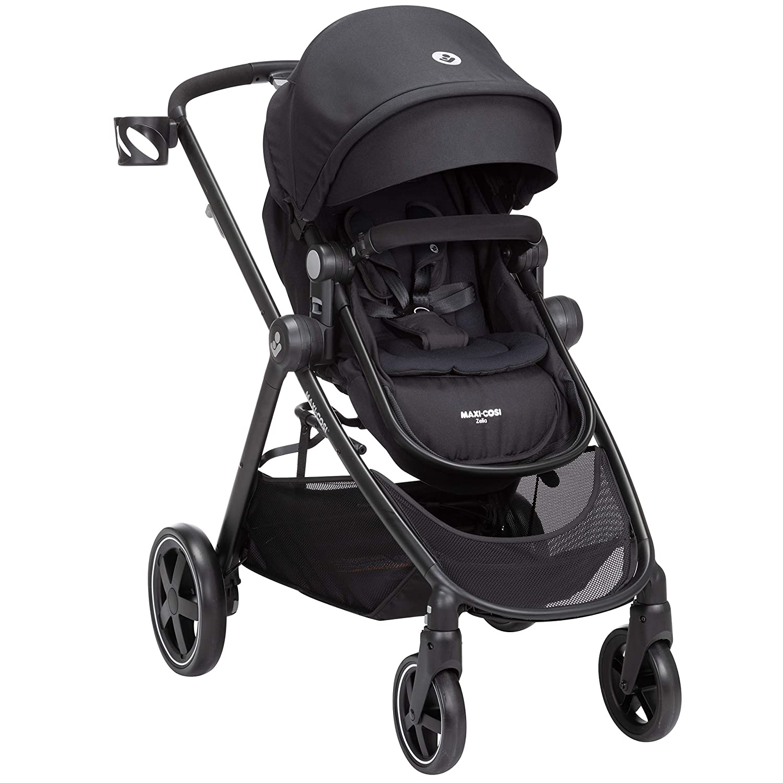 Maxi-Cosi Zelia Stroller, Night Black, One Size