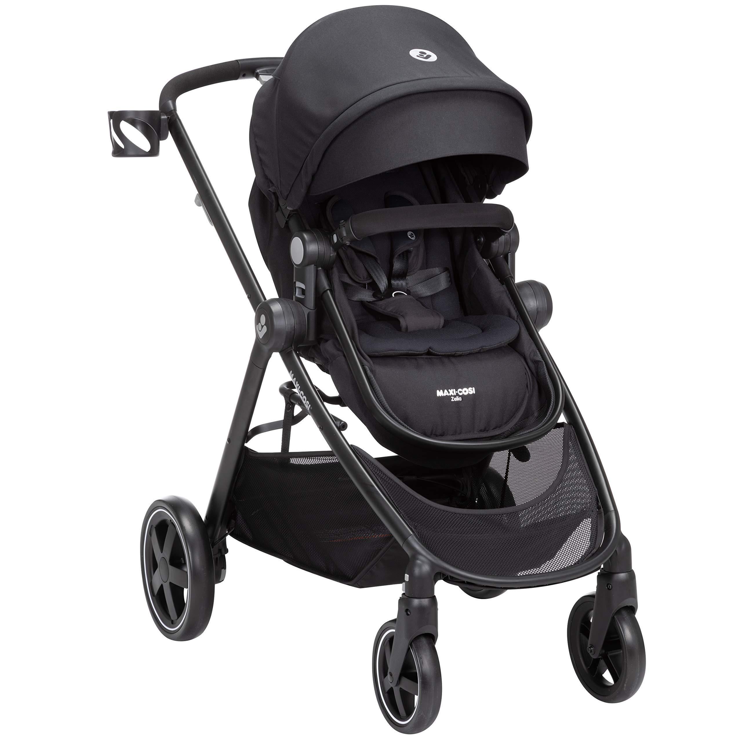 Maxi-Cosi Zelia Stroller, Night Black, One Size by Maxi-Cosi