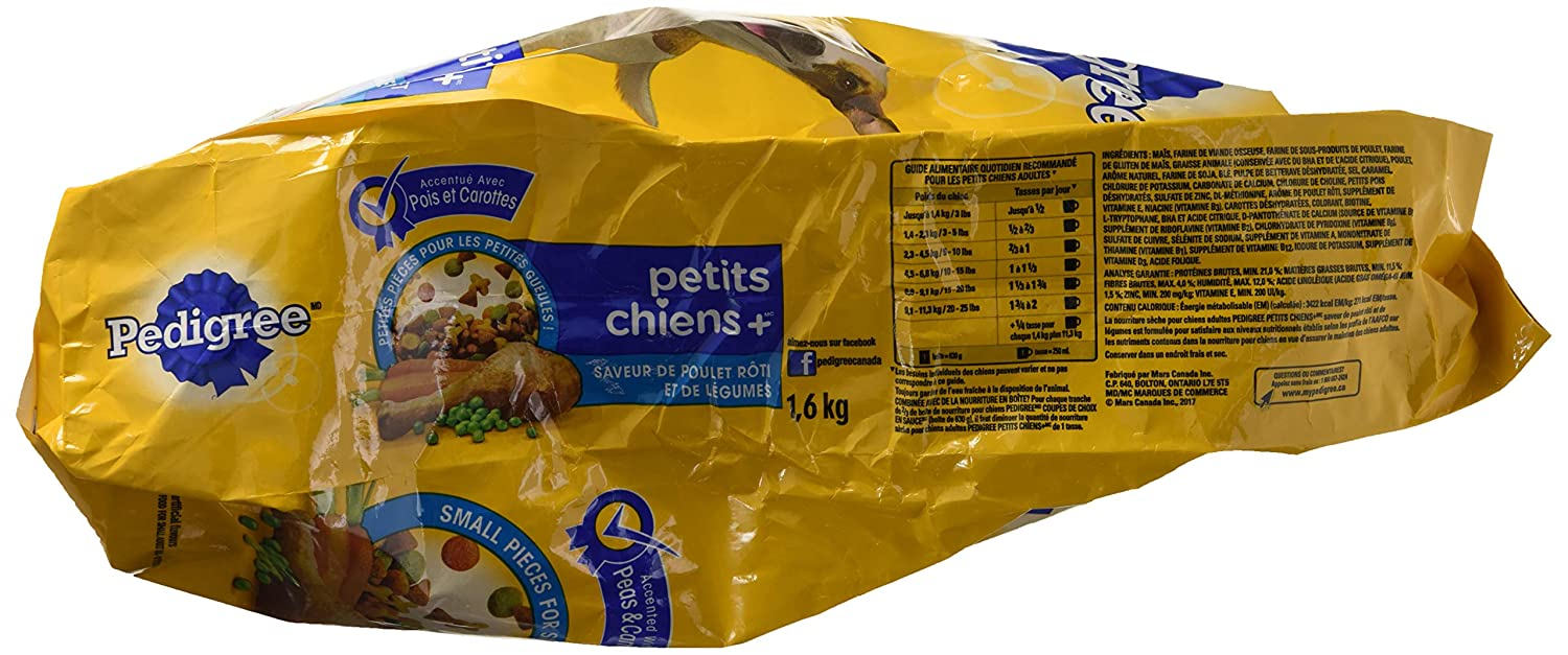 Pedigree Small Dog Dry Food For Dogs Mars Canada Inc Petcare