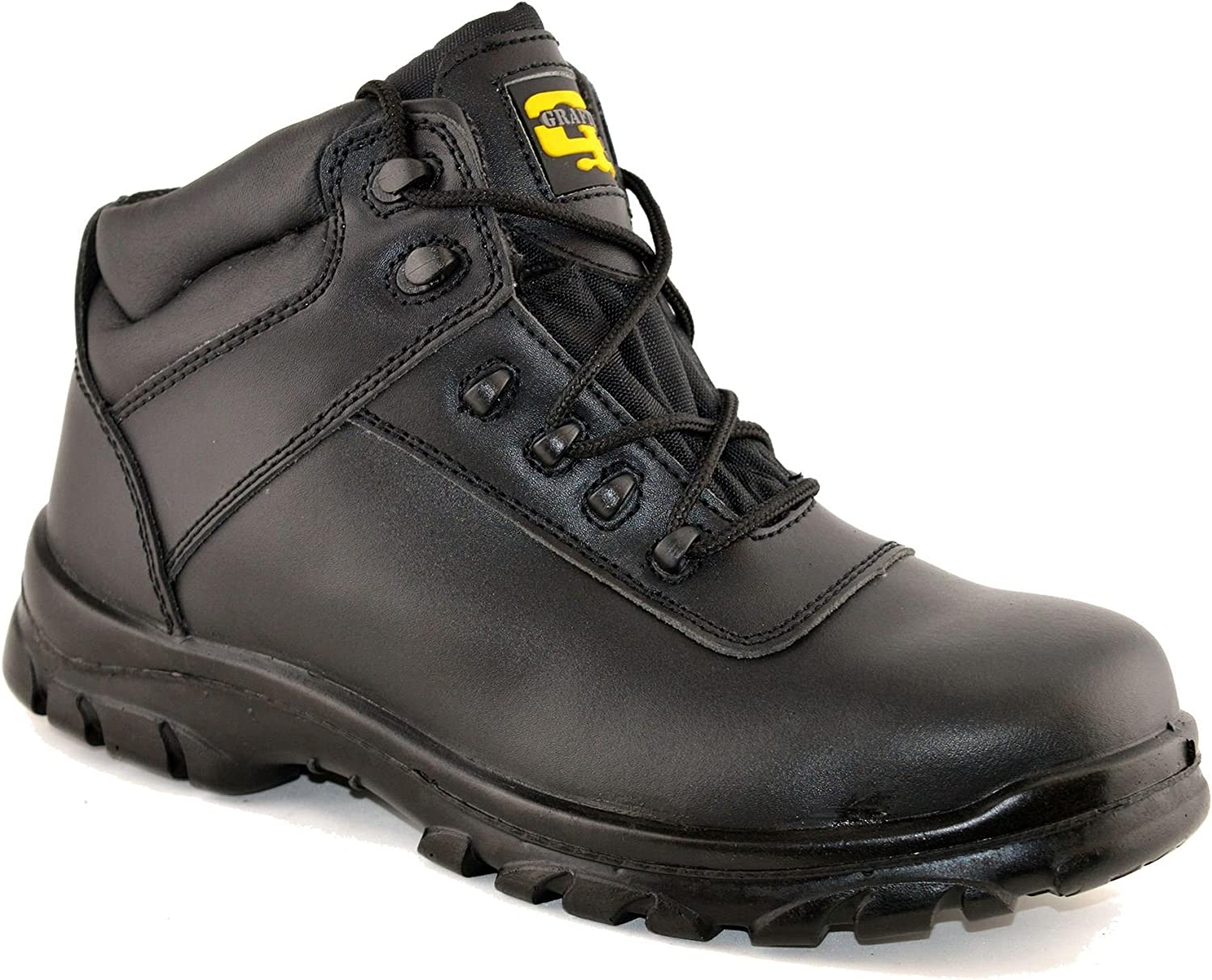 Mens Leather Safety Non Metal Fully
