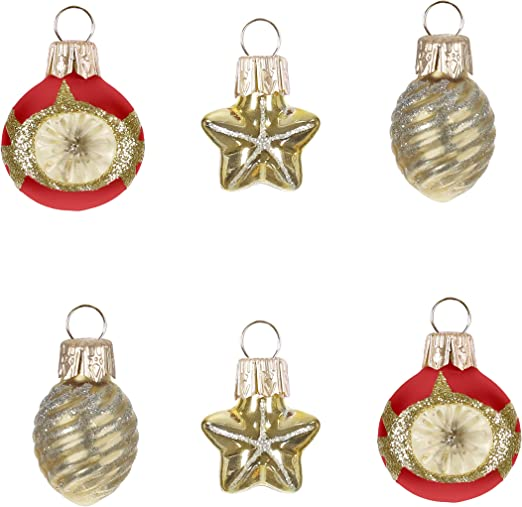 """1 Miniature Wooden Beads /& Ornament Garland Christmas Tree Holiday Mini 33"""" One"""