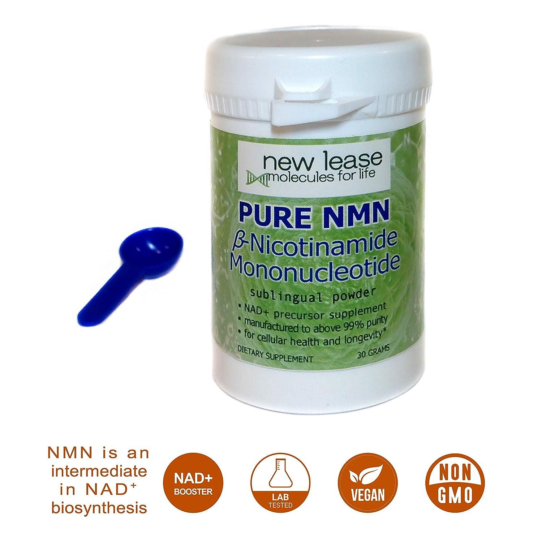 Pure NMN - Nicotinamide Mononucleotide - Sublingual Powder ...