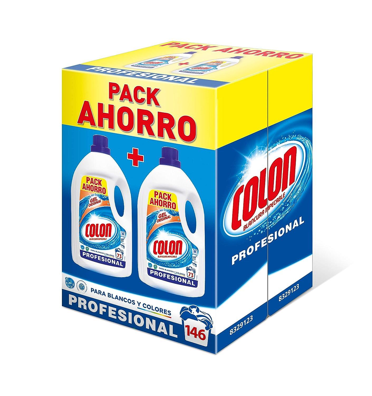 Colon Detergente para Lavadora de Ropa Formato Liquido Azul Profesional (146 lavados): Amazon.es: Industria, empresas y ciencia