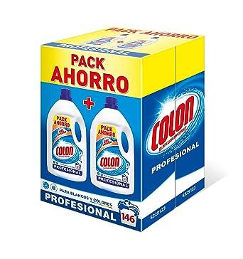 Colon Detergente para Lavadora de Ropa Formato Liquido Azul ...