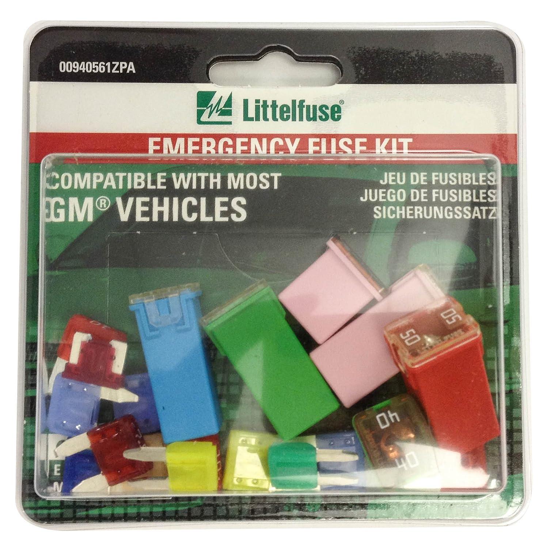 Littelfuse 00940561ZPA OEM Emergency Fuse Kit for GM
