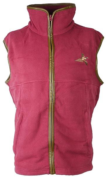 Savage Island Fleece Shooting Jacket with Pheasant Embroidery