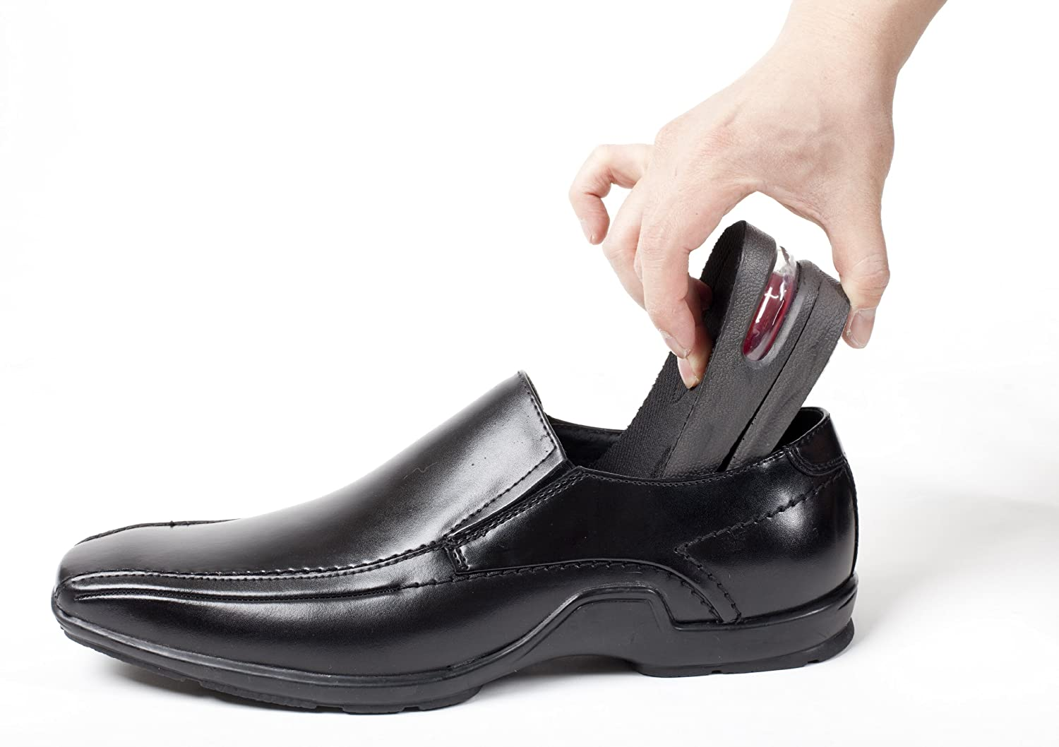 Buy Wsws 2-Layer 2 Inches Height Increase Elevator Shoes Insole For Men - 5  Cm Taller Online at Low Prices in India - Amazon.in