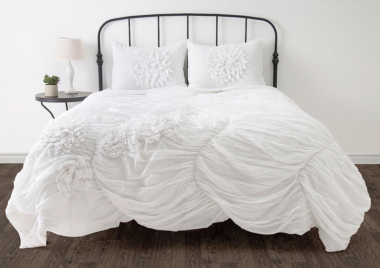 Rizzy Home Hush 3-Piece Comforter Set, Full/Queen