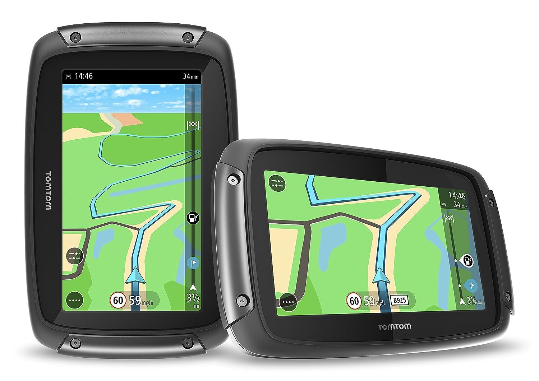TomTom GPS Moto Rider Kartenbild und Traffic Lebenslang