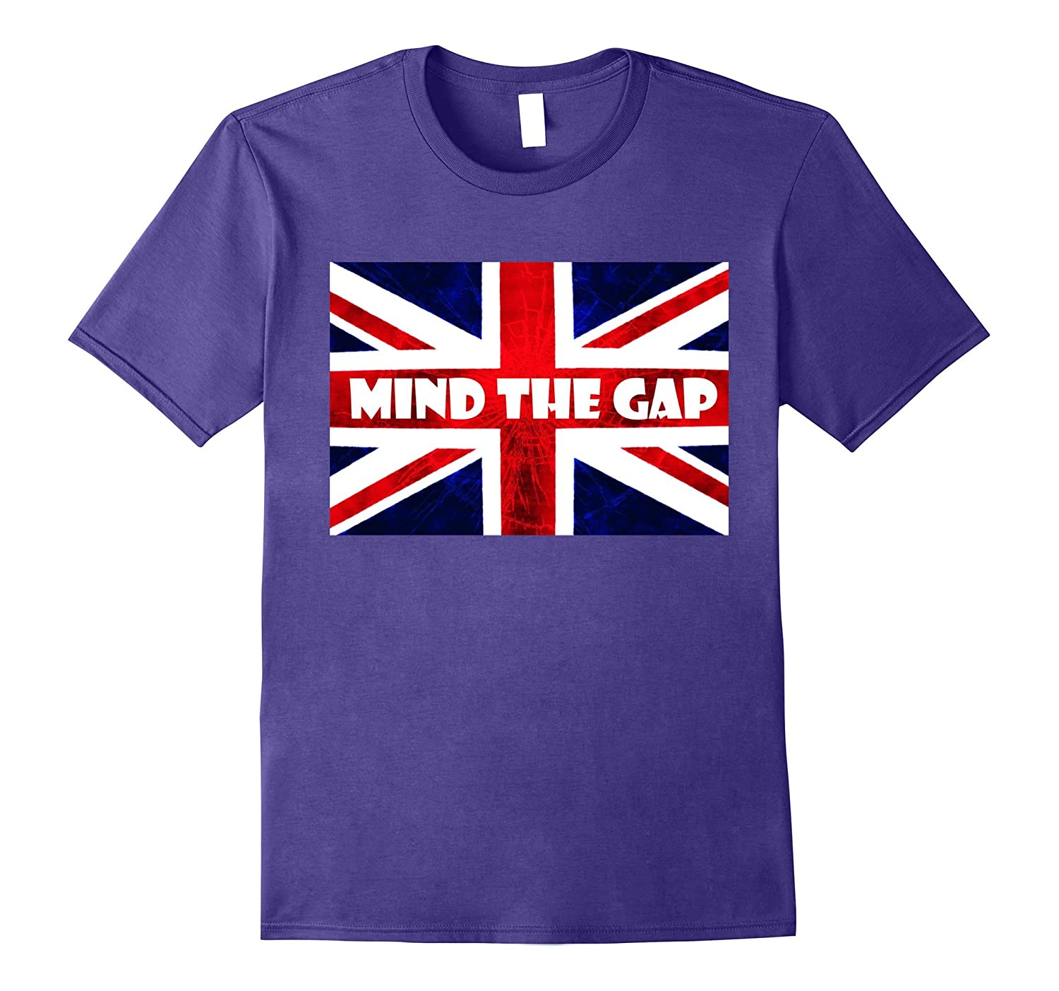 London T-Shirt - Mind The Gap UK British London Tshirts-CD