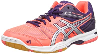 66f9e1dd1f11 ASICS GEL-ROCKET 7 Women s Multi-Court Shoes (B455N)  Amazon.co.uk ...