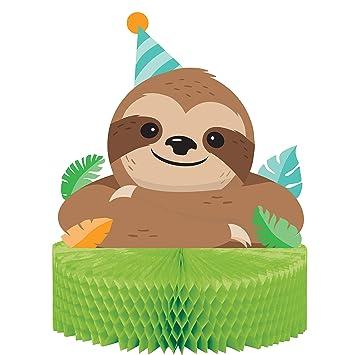 Sloth Party centro de mesa para decoración de mesa de fiesta ...