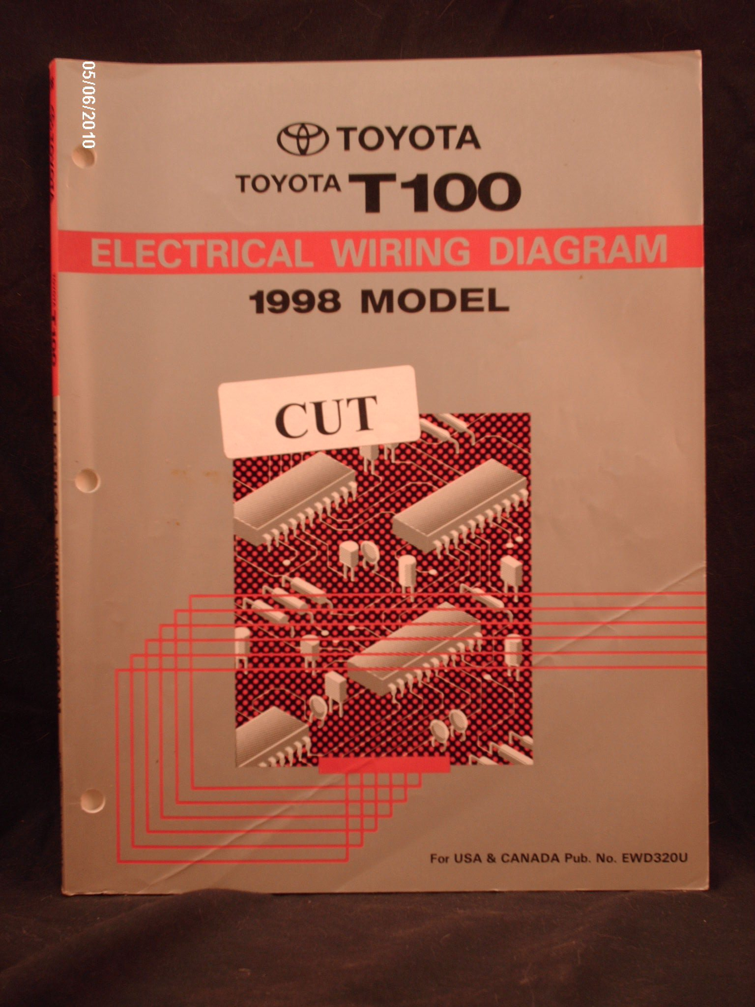 1998 toyota t100 engine diagram 1998 toyota t100 electrical wiring diagram shop repair manual  1998 toyota t100 electrical wiring