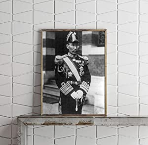 INFINITE PHOTOGRAPHS Vintage Photograph of Admiral Kanji Kato 1881- Summary: 3/4 Length, Standing, Facing Right, in unifo
