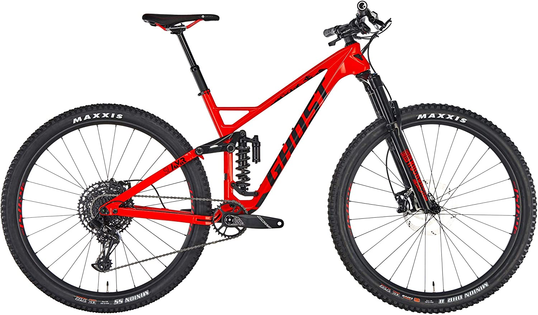 Ghost Bicicleta Enduro Slamr 6.9 LC Rojo Talla M: Amazon.es ...