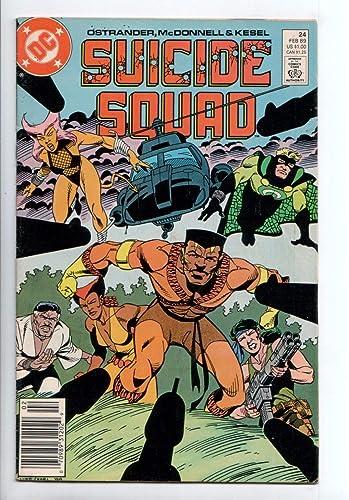 Suicide Squad #24 February 1989 DC Comics Ostrander McDonnell Kesel