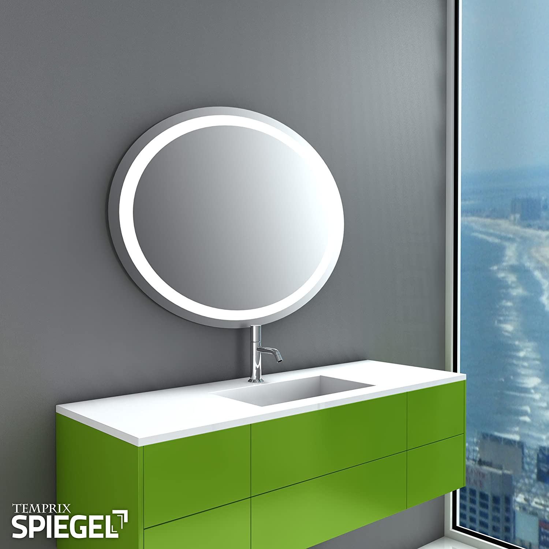 spiegel rund beleuchtet tc47 hitoiro. Black Bedroom Furniture Sets. Home Design Ideas