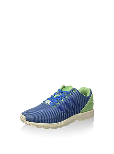get cheap 170af 8b61a promo code for adidas herren zx flux weave sneakers blau grün 42 eu e3ebb  e45a7
