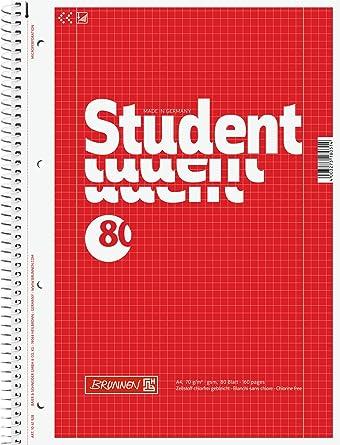 5 10 20 30 LANDRÉ® Collegeblöcke Schreibblöcke Block COLLEGE A4 kariert
