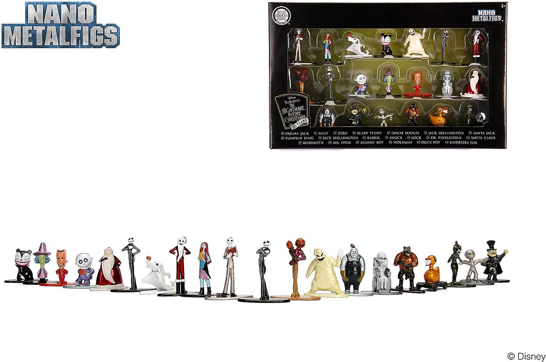 Jada- Nano MetalsFig Pack 20 figuras Pesadilla Antes de Navidad, Multicolor (0801310301227) , color/modelo surtido: Amazon.es: Juguetes y juegos