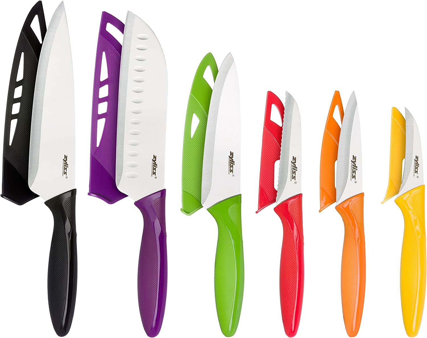 Best stainless-steel knife set with sheath covers