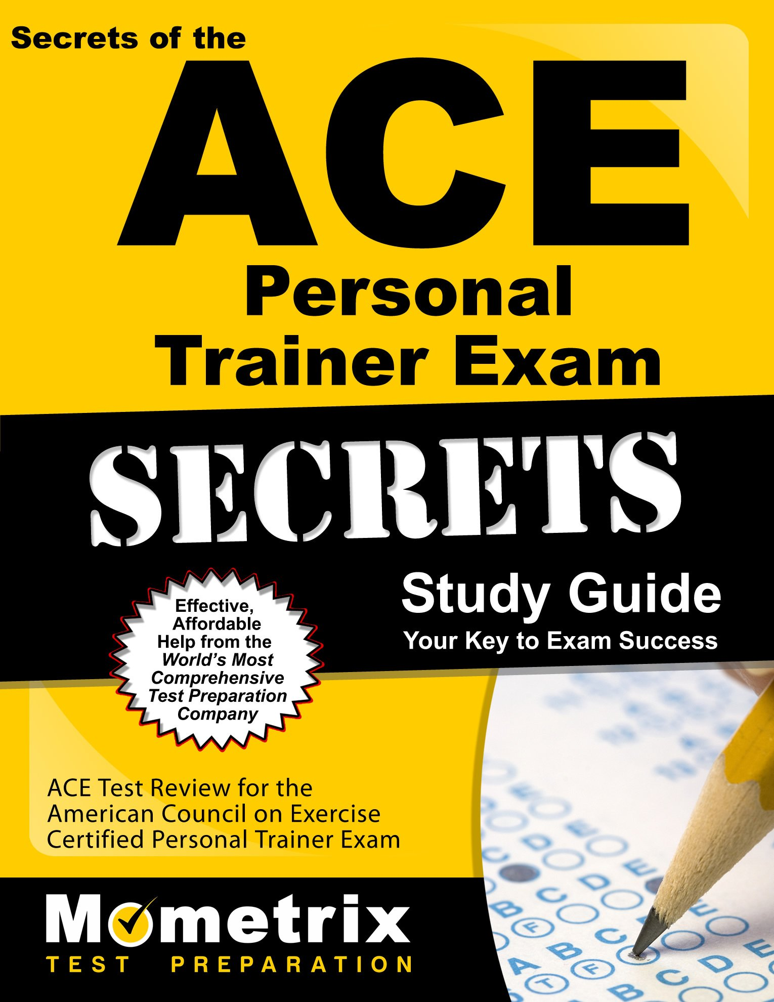 Buy Ace Personal Trainer Exam Secrets Practice Review For The