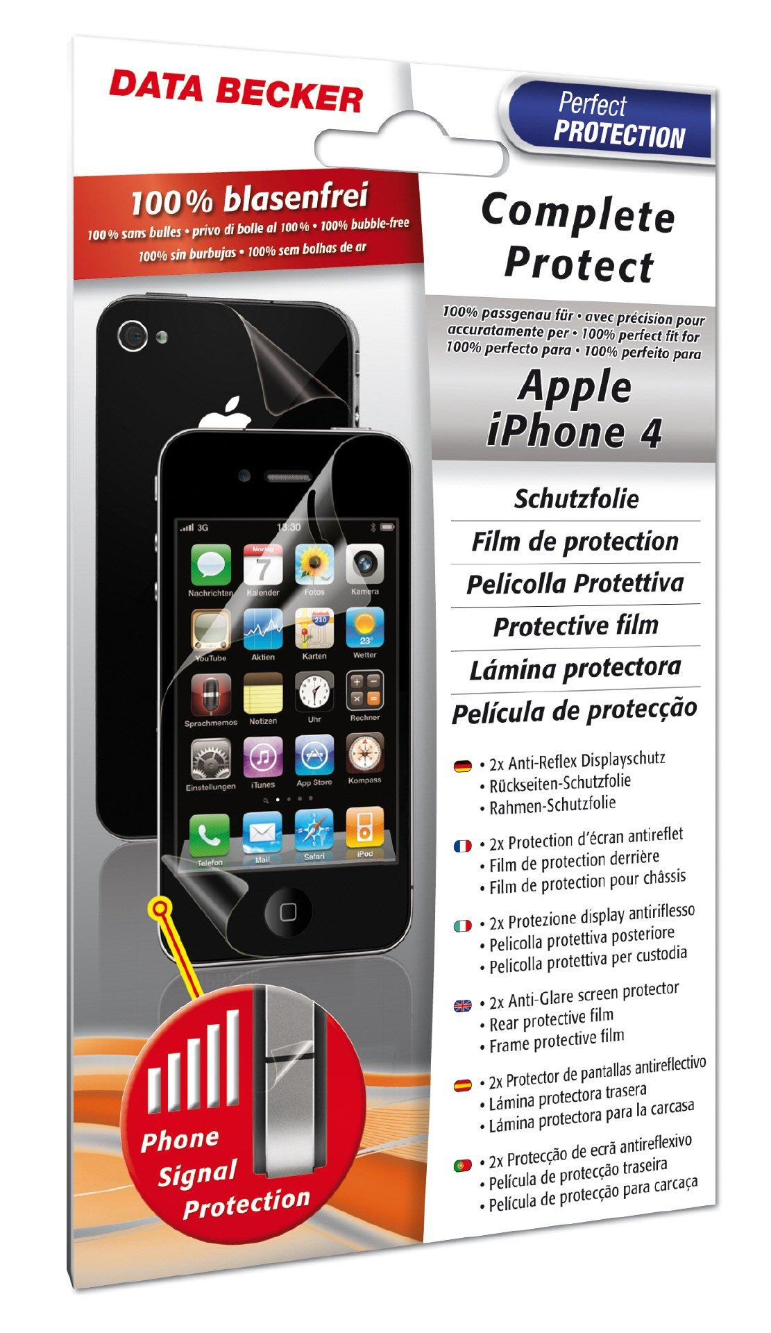 iPhone 4 Complete Protect Schutzfolie