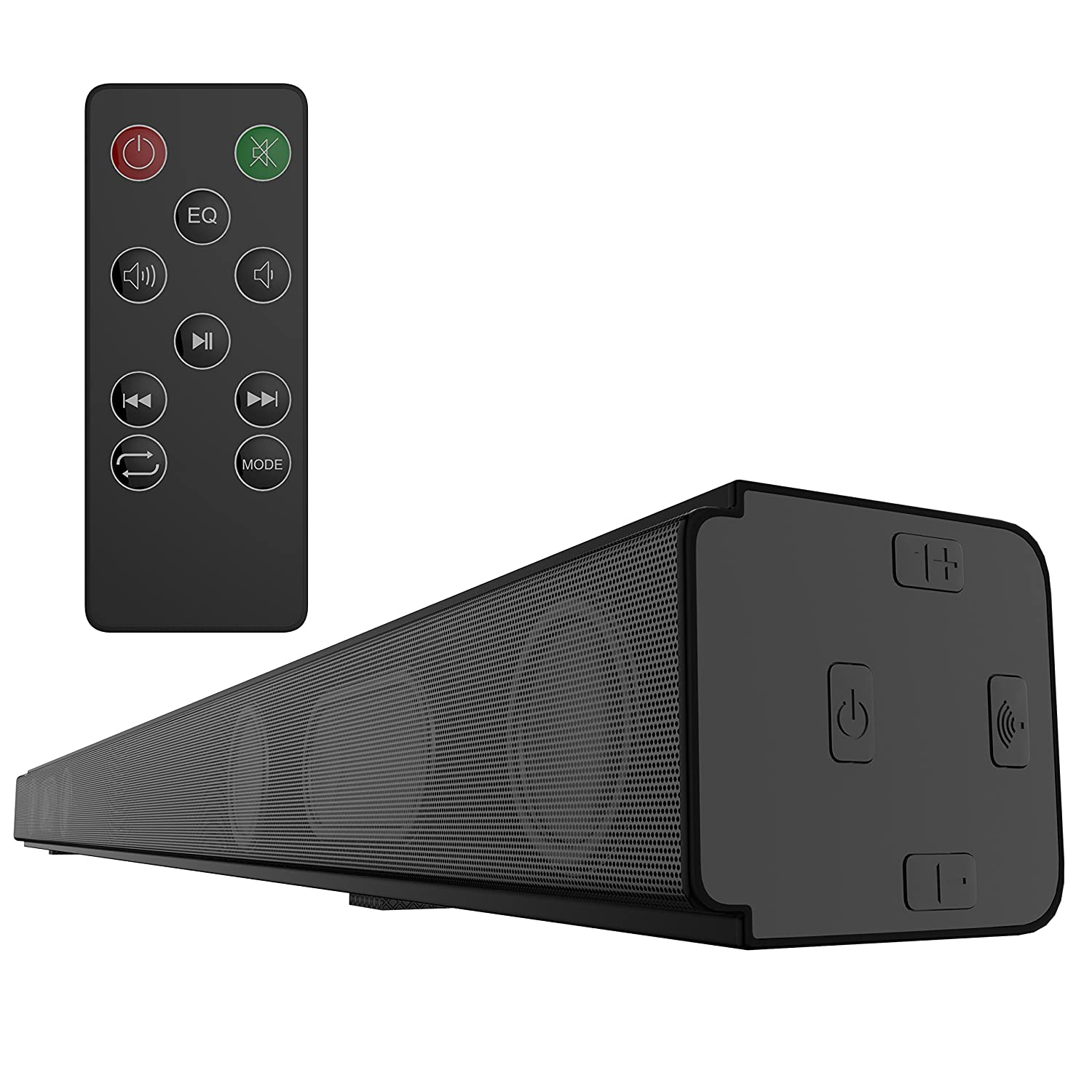 speakers for tv. amazon.com: soundbar, wotmic home speaker bluetooth sound bar wireless speakers for tv with remote: electronics tv l