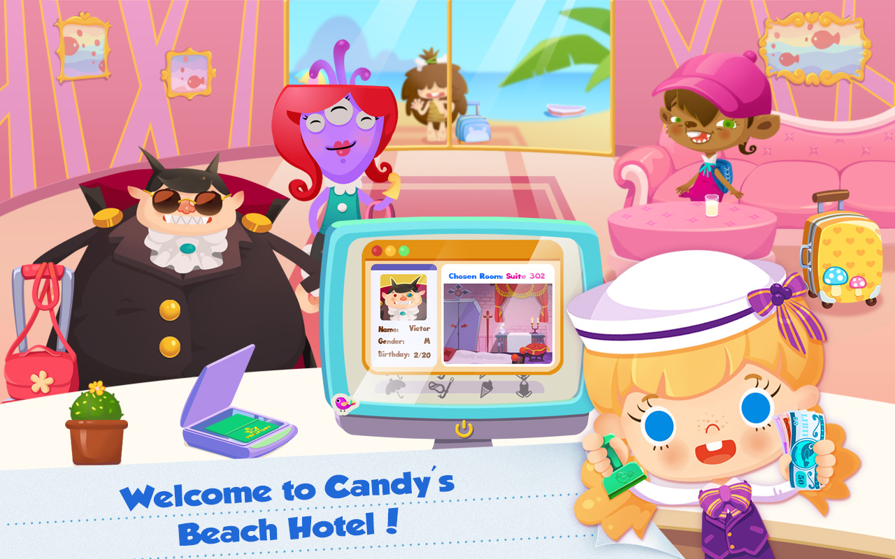 Vacaciones en el hotel de Candy de la playa: Amazon.es: Appstore para Android