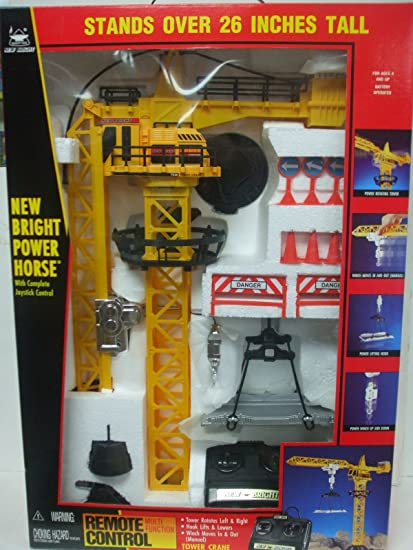 Buy new bright remote control power horse tower crane stands 26 new bright remote control power horse tower crane stands 26 inches tall fandeluxe Gallery