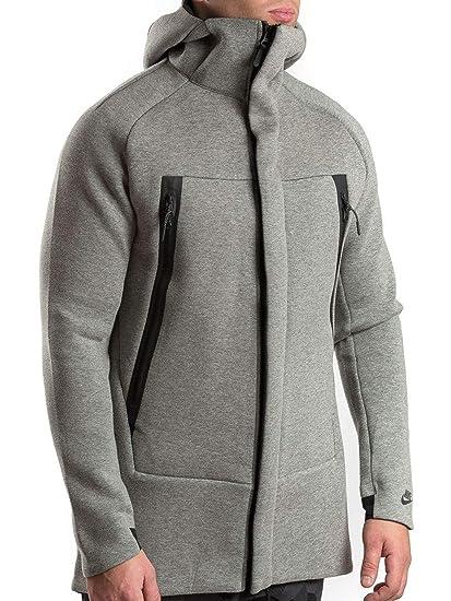 Nike Men s Sportwear Tech Fleece Parka Jacket ... at Amazon Men s Clothing  store  0206ce98f