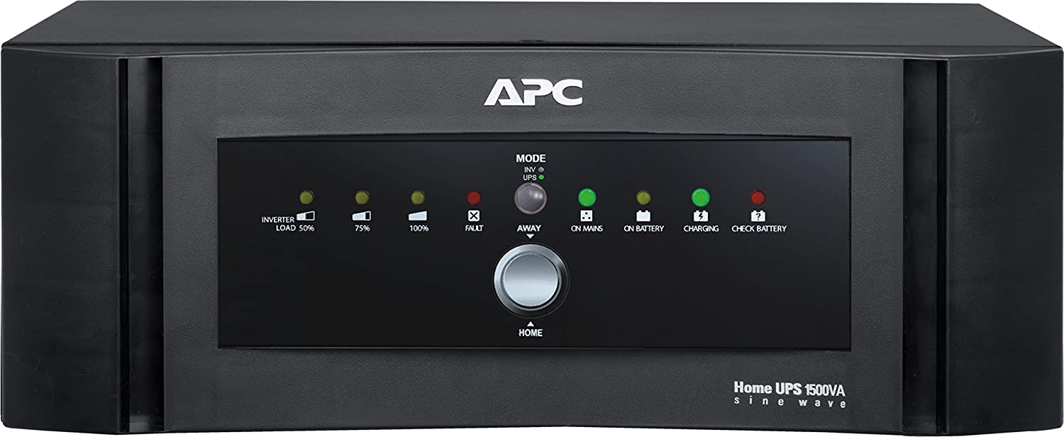 APC 1500 VA 1200-Watt Sine Wave Home UPS-Inverter