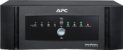 APC 1500 VA 1200-Watt Sine Wave Home UPS-Inverter (Black)