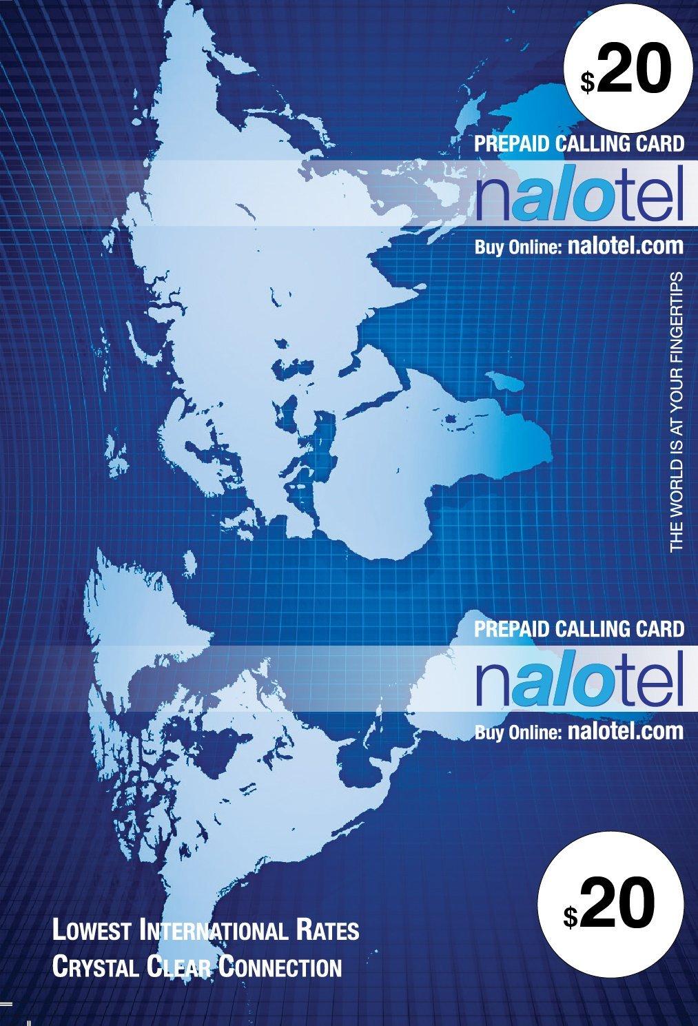 Prepaid Phone Card - Cheap International Calling Card $20