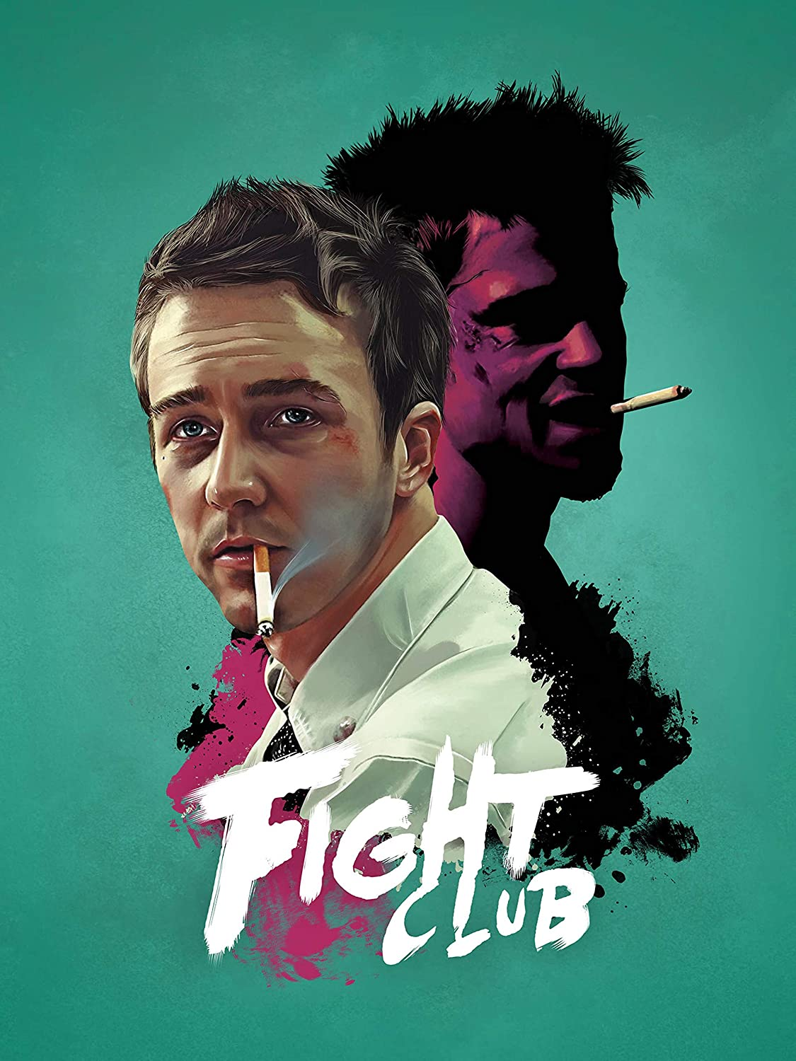 Fight Club Poster Standard Size 18×24 inches