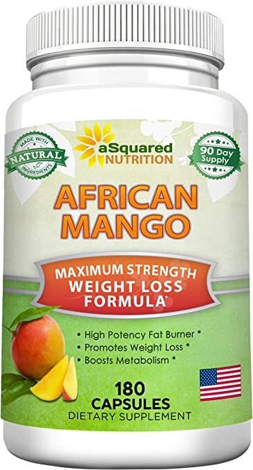 Amazon Com 100 Pure African Mango Extract Cleanse 180 Capsules