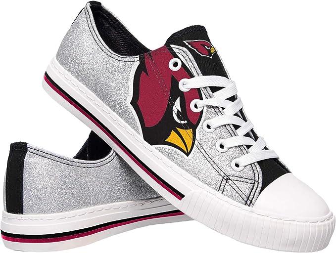 FOCO NCAA Florida State Seminoles Womens Glitter Low Top Canvas Shoesglitter Low Top Canvas Shoes 9//X-Large Team Color