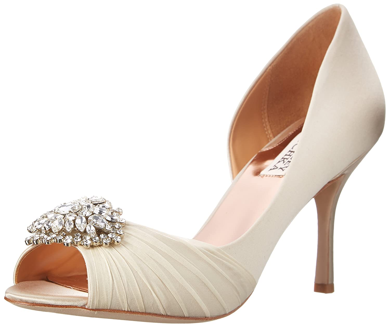 Kitty Heel Wedding Shoes