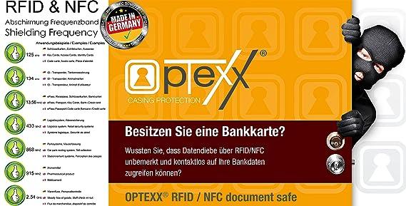Neueste Kollektion Von Schutzhülle Rfid Nfc Für Kreditkarten Ec Karten Personalausweis Kartenhülle Safe Kleidung & Accessoires