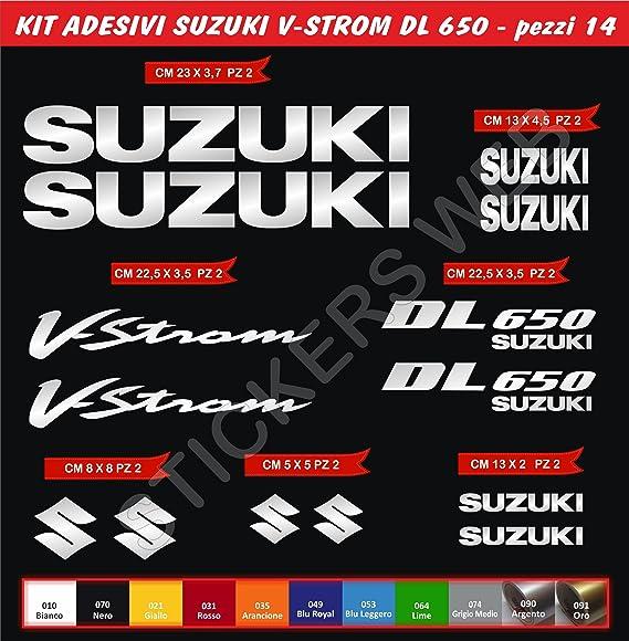 ADESIVI-STICKER 3D compatible SUZUKI V-Storm DARK STILE Tank Pad ADESIVI PARASERBATOIO TANKPAD RESINATO EFFETTO 3D