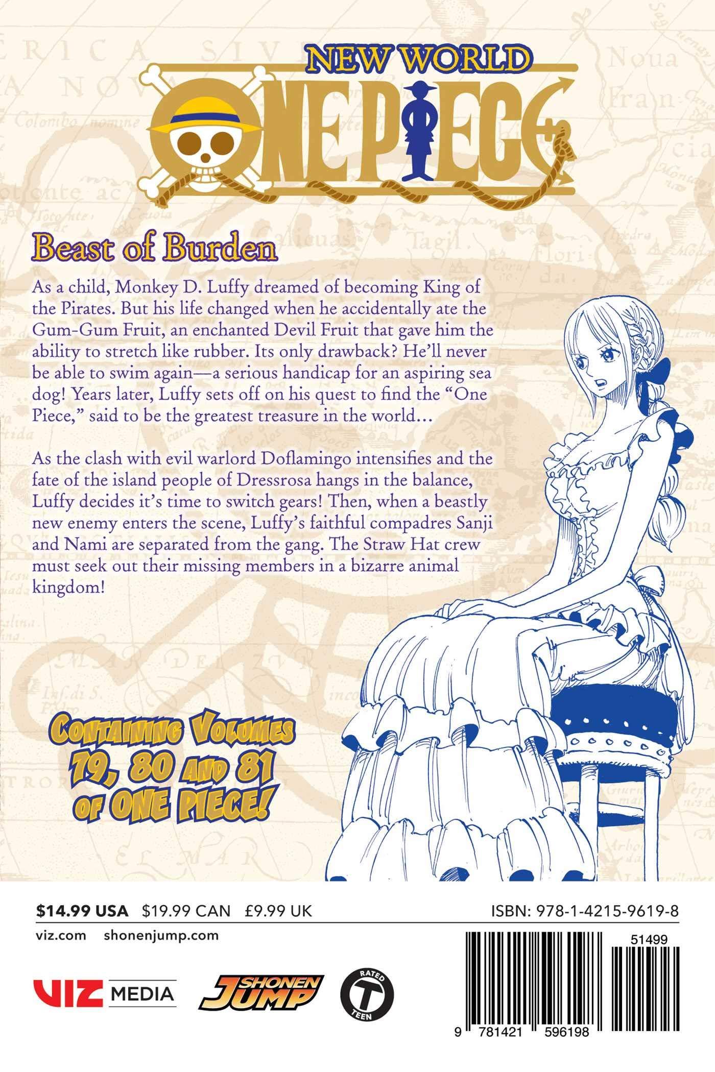 One Piece (Omnibus Edition), Vol  27: Includes vols  79, 80 & 81