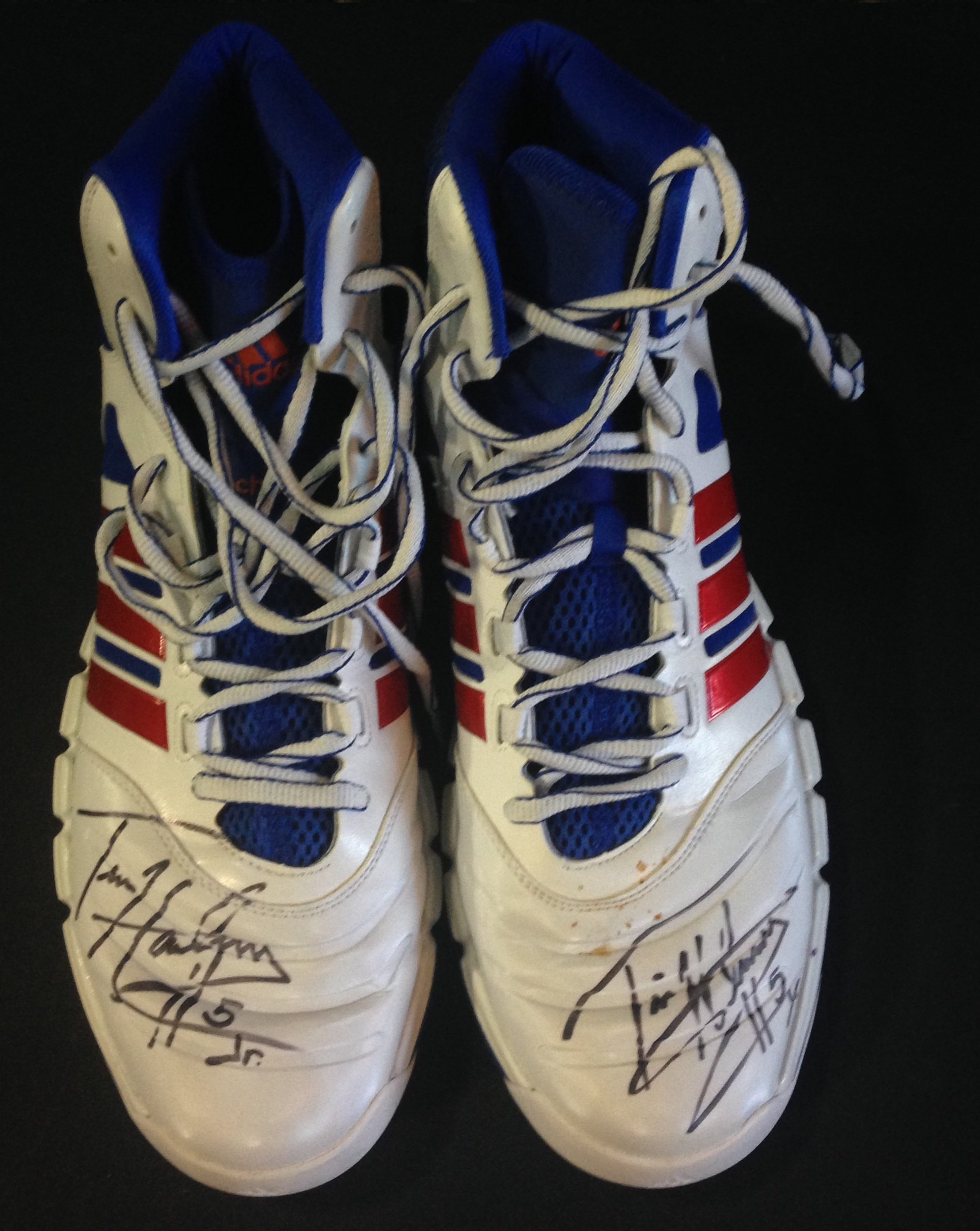 tim hardaway jr knicks hawks signed game used sneaker