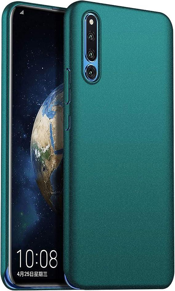 1SourceTek Compatible para Funda Huawei Honor Magic 2 Estuche Protector para Celular Delgado Minimalista Protector Anti-Rasguño de Alta Calidad para Huawei Honor Magic 2 (Grava Verde): Amazon.es: Belleza