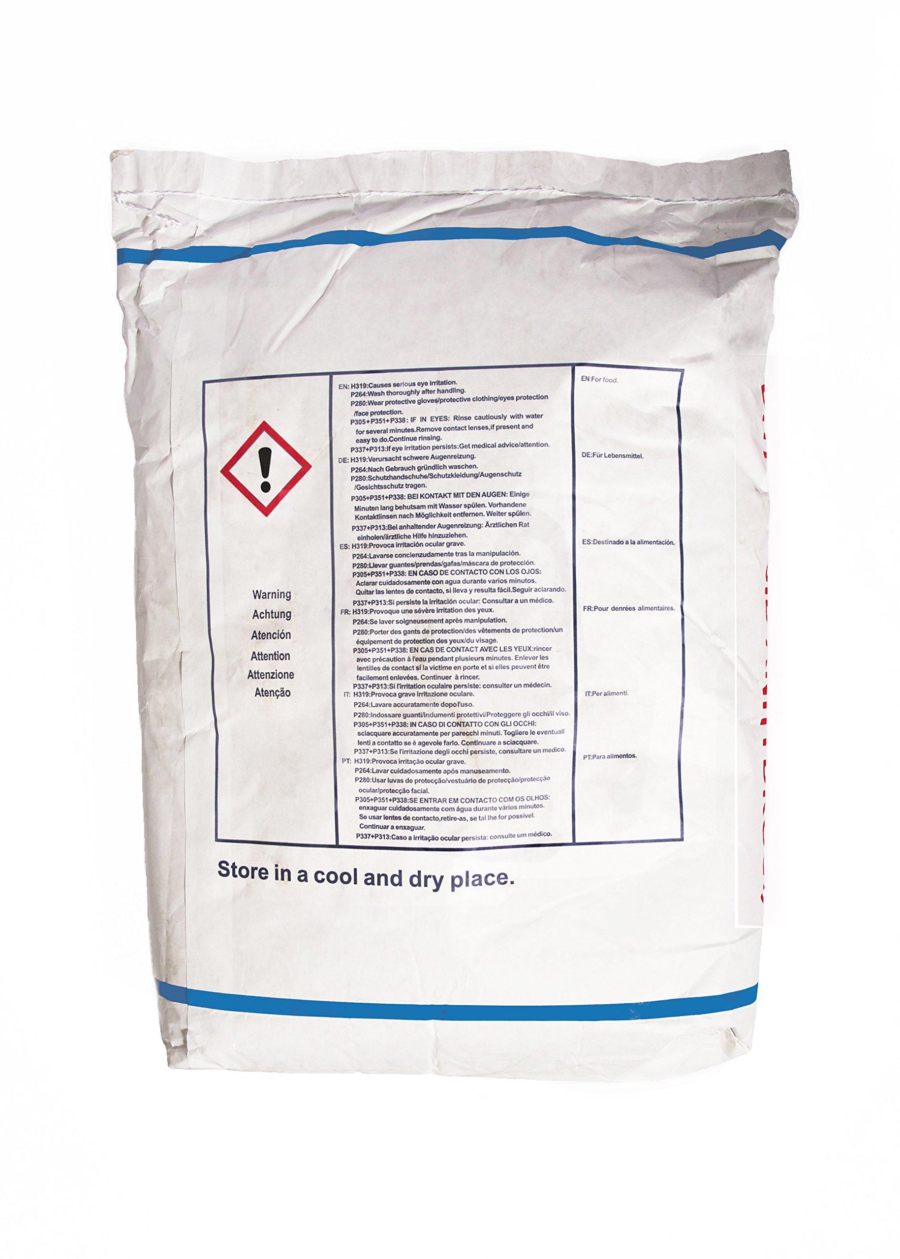 Citric Acid, Granular Anhydrous FCC/USP 99.5% - 50lb Bag by TRInternational, Inc.